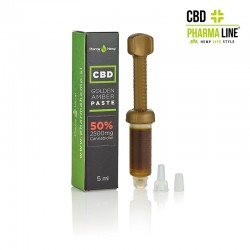 CBD GOLDEN AMBER PASTE 5ml 50% (2500 mg)