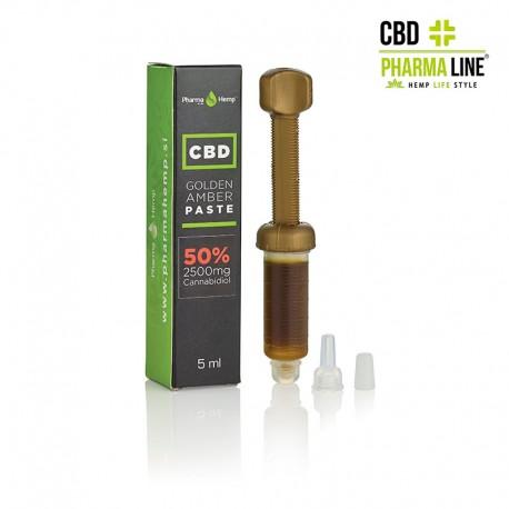 CBD GOLDEN AMBER PASTE 5ml 50% (2500 mg)