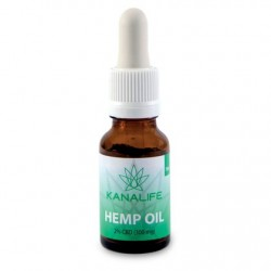 CBD Hemp Oil 2% (300mg) in 15ml