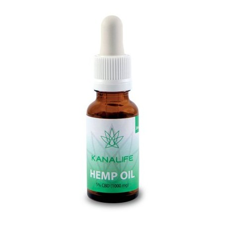 CBD Hemp Oil 5% (1000mg) in 20ml