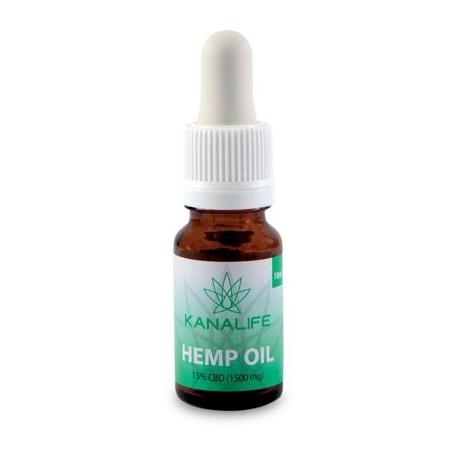 CBD Hemp Oil 15% (1500mg) in 10ml