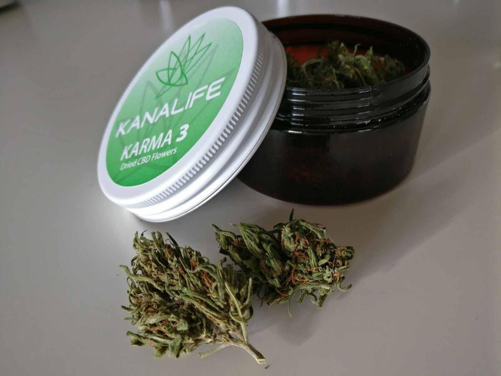 Karma 3 - CBD Dried Flowers - 3% CBD - CBD Pharma Line®