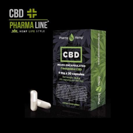 CBD 9mg capsules 30pcs (270mg)
